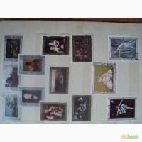 Продам марки живопись