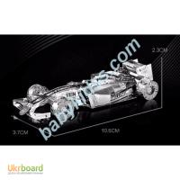 Металлический конструктор 3d пазл Формула1 боллид