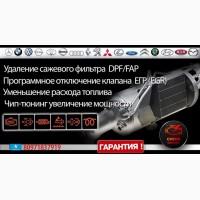 Удаление сажевого фильтра DPF/FAP
