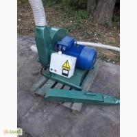 Молотковая дробилка зерна, опилок 18 кВт (2000кг/час)