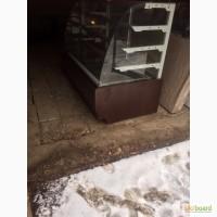 Продам б/у кондитерские холодильные витрины длинной 1.8 метра на динамике