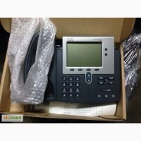 Телефон-селектор IP Cisco CP-7940G. Новые. 16 шт