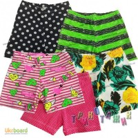 Шорты цветные для девочки