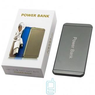 Power Bank design iPhone 6 10000 mAh серый, розовый, голубой, золотистый