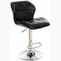 Блестящий Барный стул В-70 (блестящий кожзам)