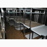 Столы производственные для кафе ресторана из нержавейки по цене б/у В наличии готовые