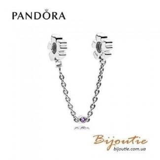 Защитная цепочка PANDORA ― полевые цветы 797090NRP оригинал Пандора