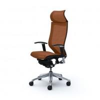 Эргономичное кресло OKAMURA CP polished-mech-BROWN