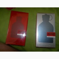 Продам за ненадобностью мужские духи в больших бутылках Hugo Boss RED и ICED ПО - 75 мл
