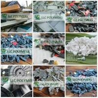 Закупаем полигонные отходы пластмасс навалом: ПНД флакон/канистра