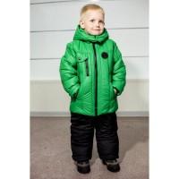 Детские зимние тёплые комбинезоны Антошка для мальчиков 2-6 лет в четырех цветах