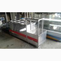 Прилавок для подносов и столовых приборов ПСП 70 к б у, подставка для посуды б/у