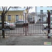 Ворота металлические, распашные, автоматические в харькове
