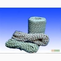 Шнур плетеный капроновый полиамидный диаметром 5-20 мм