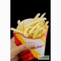 Упаковка для картошки фри, упаковка для гамбургеров