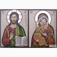 Венчальные иконы.