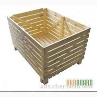 Овощные контейнеры деревянные