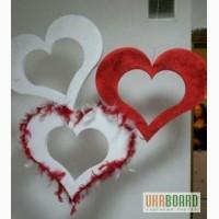 День Святого Валентина,оформление ТЦ,кафе ресторана,магазина