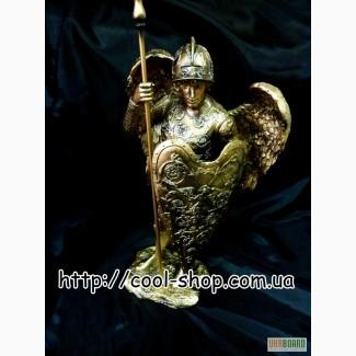 Статуэтка Георгия Победоносца, купить статуэтку ангел Георгий Победоносец, подарок в дом и