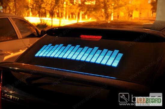 Тюнинг эквалайзер на стекло автомобиля тюнинг автомобилей 124 е500