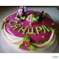Детский торт Минни Маус