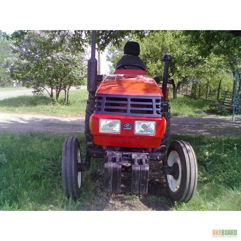 Увеличить фото: Мини трактор dongfeng (донгфенг) d240.