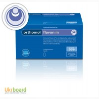 Orthomol Flavon M для лечения заболеваний предстательной железы у мужчин. Ортомол флавон М
