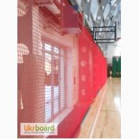 Сетка защитная на окна в спортзал, белая сетка и цветная сетка