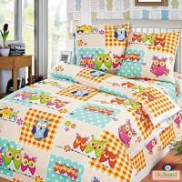 Детская постель Киев, Комплект Милые совушки