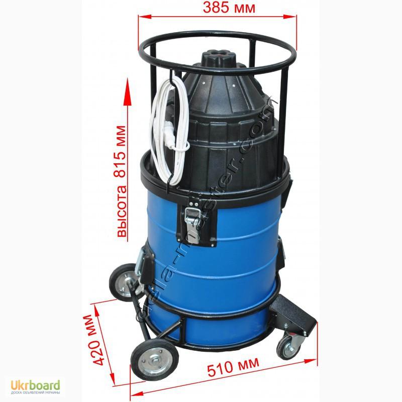 Пылесос для строительного мусора без мешков