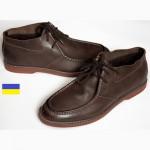 Florsheim HiFi ботинки мужские демисезонные нубук коричневые