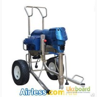 Безвоздушное нанесение шпаклевки агрегат окрасочный AS E-450