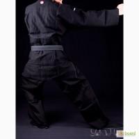 Черное плетенное кимоно (ДО ГИ) для единоборств (Master 2) Италия
