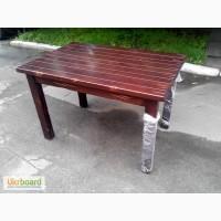 Купить обеденный стол из дерева бу