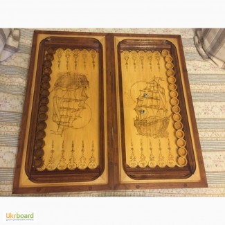 Продам резные деревянные нарды ручной работы