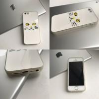 Чехол с глянцевой поверхностью на iPhone 5/5S