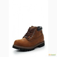 Распродажа! Мощные ботинки Skechers Коричневые Натуральный Нубук-Ойл