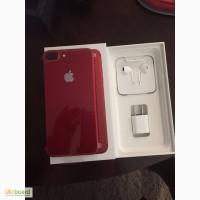 Новое яблоко iPhone 7 Plus (ПРОДУКТ) RED Special Edition 256 ГБ Открывается запечатанный