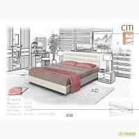 Кровать Сити с каркасным матрасом