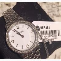 BULOVA :Женские часы с 72 натуральными бриллиантамиБ сапфировое стекло