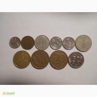 Монеты Бельгии (10 штук)