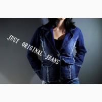 Стильный и элегантный женский джинсовый пиджачок
