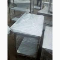 Столы производственные новые разделочные из нержавеющей стали для кухни по цене б/у