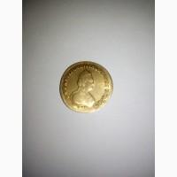 Продам монету Екатерина 2 Пять рублей 1779 года Золото