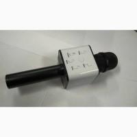 Караоке-микрофон Q7 с динамиком с чехлом, Черный