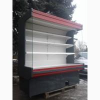 Холодильная горка Byfuch 2 м. б/у, холодильный регал б/у