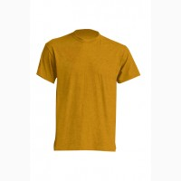 Футболка унисекс, футболка темно-горчичная короткий рукав