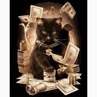 Картина по номерам Art Craft «Зажиточный кот» 40x50см 11932-AC