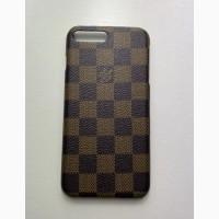 Роскошный чехол брендовый iPhone 12 Pro Max Louis Vuitton Canvas для модели iPhone 12