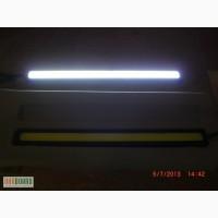 Дневные ходовые огни - фары дневного света - drl - 17 см